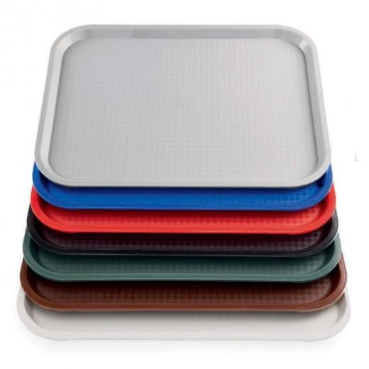 Tablett 455x355mm PP randverstärkt stapelbar - VPE 10 Stck.