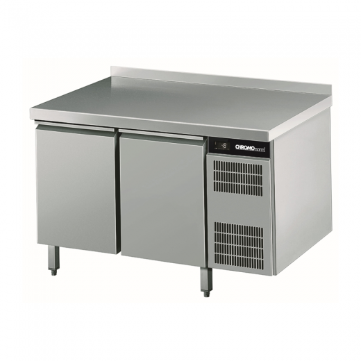 Chromonorm Edelstahl Kühltisch - 2 Türen - TPHK