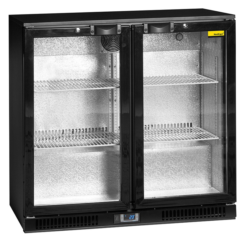 Einbaukühlschränke  RBS 900-D NordCap Glastür Rückbuffet Kühlschrank - www.gastro ...