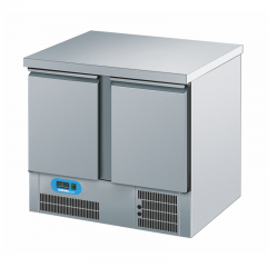 Chromonorm Edelstahl Kühltisch BR795 - 2 Türen - TPAK