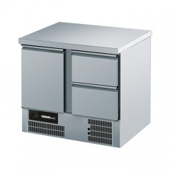 Chromonorm Kühltisch BR 795-AEV 1T1S GN 1/1 - 1xTür 1xSchub