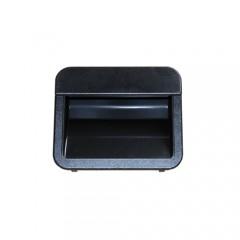 Muschelgriff, schwarz für Theken / MaxiMax / MiniMax / EGL Modul / Vario