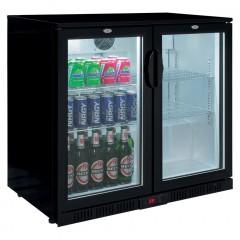 Eco Glastür Einbaukühlschrank SC 250 D