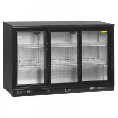 NordCap Glastür Einbaukühlschrank RBS 1355-S3