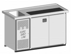 EGL-Theke E16TT - 1 Becken 2xTür