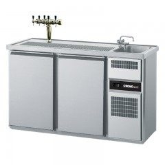 Chromonorm Getränke Kühltheke 1 Becken rechts - 2T