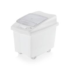 Kunststoff Lebensmittelbehälter fahrbar - 80 l