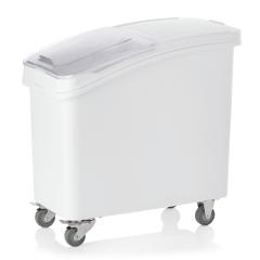 Kunststoff Lebensmittelbehälter fahrbar - 102 l