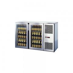 Einbau Getränke Kühlung 2xGlastür Kältemaschine T44