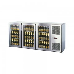 Einbau Getränke Kühlung 3xGlastür Kältemaschine T44