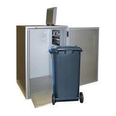 K&M Holland Müllkühler 1x120l Tonne - KC0620CN