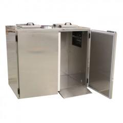 K&M Holland Müllkühler 2x120l Tonne - KC1190VZ