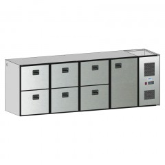 Edelstahl Tischplatte B 1.300 T 700 - HK