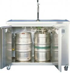 Bier Mobiltheke MT-2 für 2x50 l im Anstich