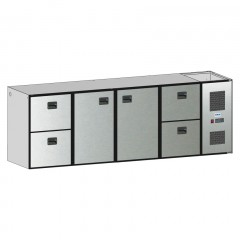Edelstahl Tischplatte B 1.300 T 600 - HK