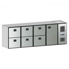 Edelstahl Tischplatte B 1.400 T 600 - HK