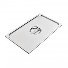 Hupfer Edelstahl GN-1/1 Deckel für Behälter ohne Griffe