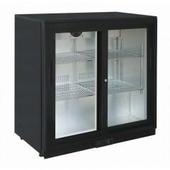Eco Glastür Einbaukühlschrank SC 250 SD