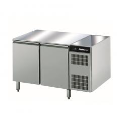Chromonorm Edelstahl Bäckerei Tiefkühltisch - 2 Türen - AOTP
