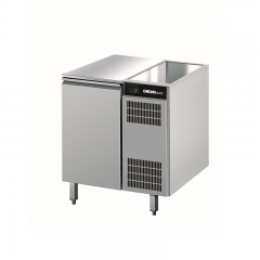 Chromonorm Edelstahl Kühltisch - 1 Tür - AOTP