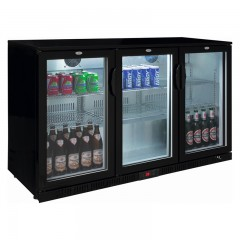 Eco Glastür Einbaukühlschrank SC 350 D