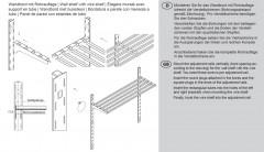 Hupfer Edelstahl Rost Wandbord 15-03