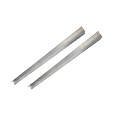Chromonorm L-Auflagenschienenpaar für Bäckerei Kühl-& Tiefkühlmöbel