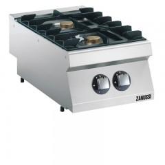 ZANUSSI 2 Flammen Gasherd - Tischgerät GH7/2FLT