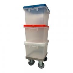 Transportwagen Edelstahl ROL345-BOX für BOX