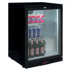 Eco Glastür Einbaukühlschrank BC 138