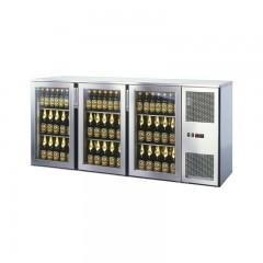 Einbau Getränke Kühlung 3xGlastür Kältemaschine T56
