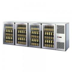 Einbau Getränke Kühlung 4xGlastür Kältemaschine T56