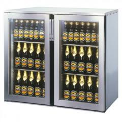 Einbau Getränke Kühlung 2xGlastür Zentralkälte T44