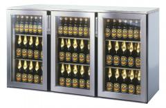 Einbau Getränke Kühlung 3xGlastür Zentralkälte T44