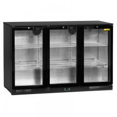 NordCap Glastür Einbaukühlschrank RBS 1355-D