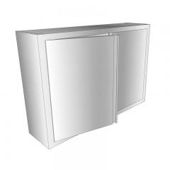 Edelstahl Wandhängeschrank WHL - 900x300 mm