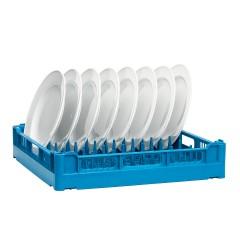 Kunststoff Tellerkorb UK - blau