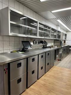 Kühlmodul für Zentralkühlung mit Schüben von K&M Holland Kühlmöbel